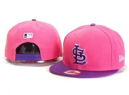 St.Louis Cardinals New Type Snapback Hat YS7607